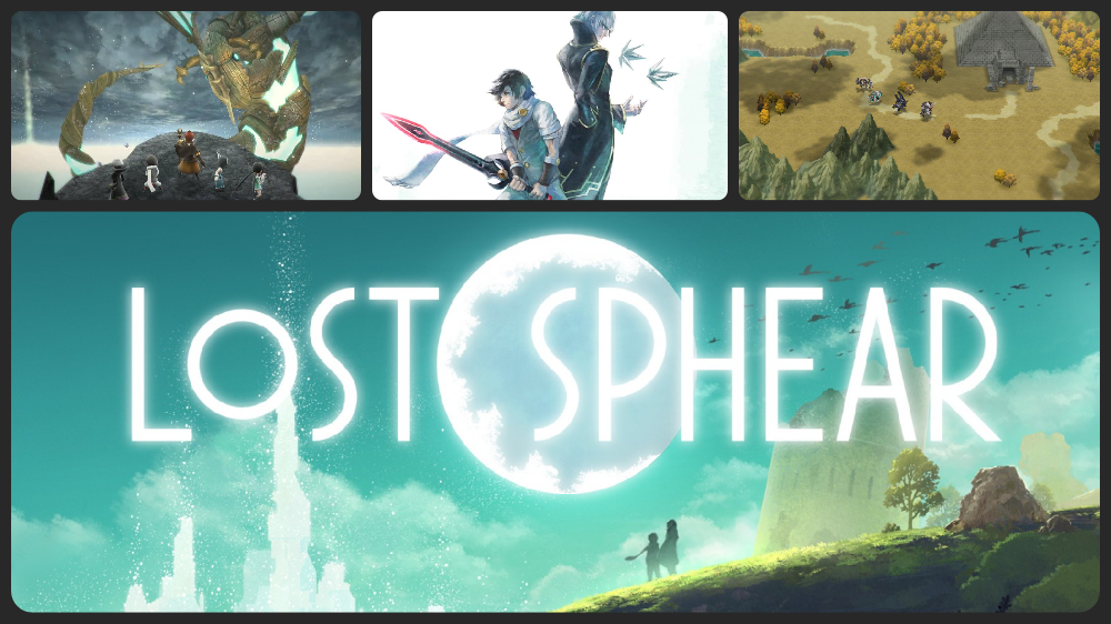 gameplay de lost sphear