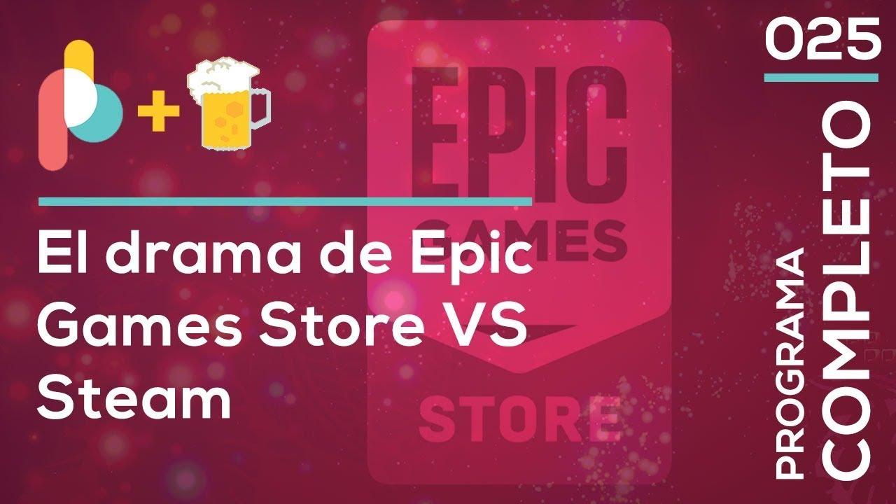 la tienda de Epic y Steam