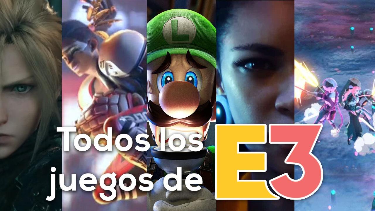 juegos de E3 2019